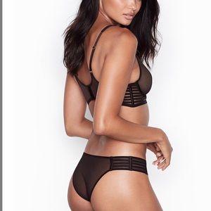 NWT Victoria's Secret Mesh Panty
